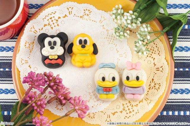 戌年にぴったりのきゃわゆ~いキャラ和菓子♪ 「食べマス」シリーズにプルートやドナルドダックが新登場だよ~!