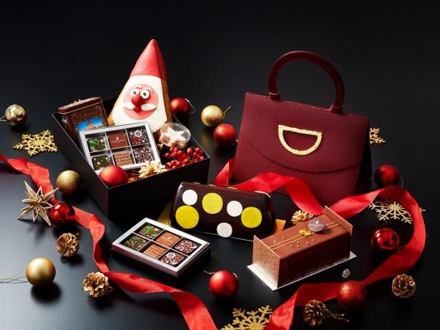 バッグ型チョコレートの中にチョコレートケーキが!? サマンサタバサから見た目も楽しいクリスマススイーツが期間限定で登場してるよ