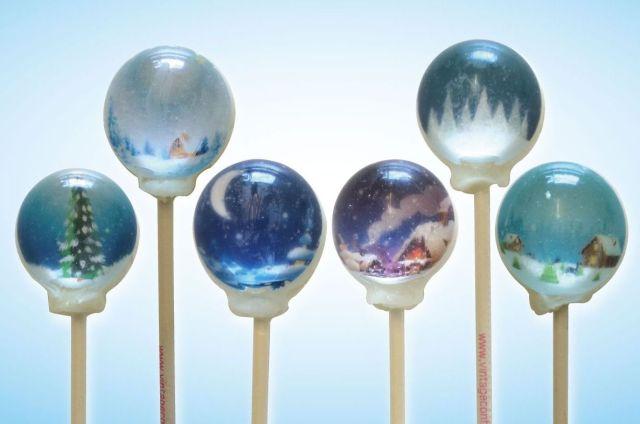 甘い球体に美しい冬景色を閉じ込めました♪ ロマンチックな食いしん坊女子におすすめの「スノードームキャンディー」が新発売