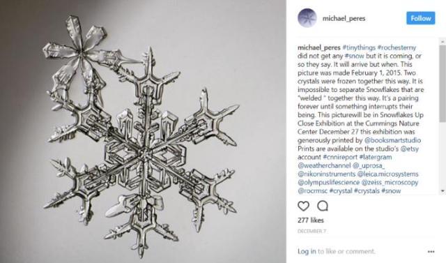 同じものは2つとない…インスタグラムで見る「雪の結晶コレクション」がロマンチック!