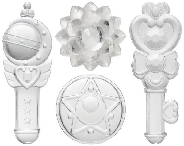 """セーラームーングッズに「アイストレー」が新登場♪ アニメに出てくる """"4つのキーアイテム"""" の氷を作れるよ"""