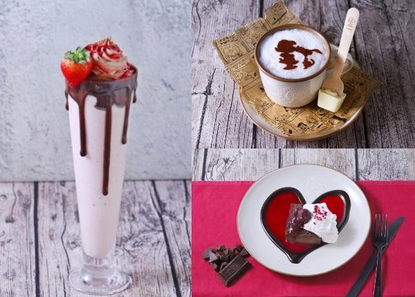 スヌーピーがルーシーにキス! 「ピーナッツカフェ」のバレンタイン限定メニューが愛にあふれてます♡