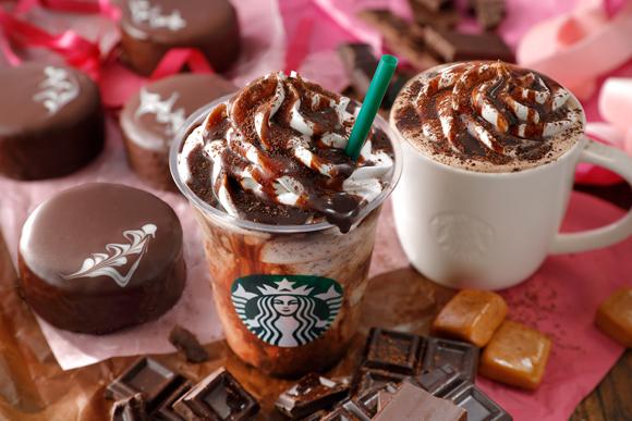 【スタバ新作】バレンタイン限定ドリンク「チョコホリック」2種類が登場だよ!  テーマは「とことん自分を甘やかすバレンタイン」です