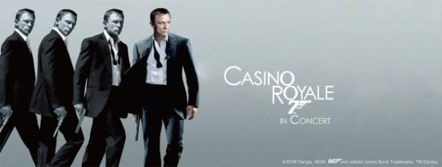 映画『007 カジノ・ロワイヤル』をフルオーケストラの生演奏で鑑賞できるイベントが4月に開催! 臨場感あふれる音楽でテンション爆上がりしそう!