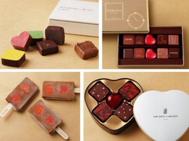 チョコ選びに困ったら東京ミッドタウンへ! 真っ赤なハートが素敵なチョコアイスなどいろいろ揃ってます♡