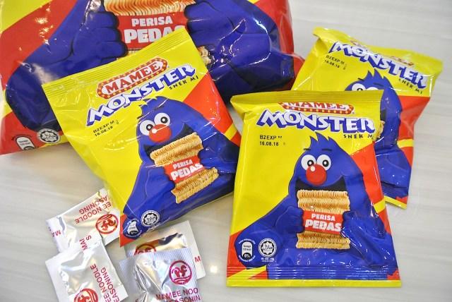 マレーシアのチキンラーメン!? インスタント麺をバリバリ食べるマレーシアの国民的スナック「マミー・モンスター」を食べてみた