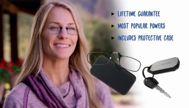 【メガネ革命や】ツルがないメガネがとっても快適そう!! カード2枚分の薄さで頭を振っても落ちません