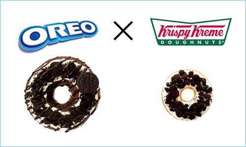 オレオとクリスピー・クリーム・ドーナツのおいしいコラボが再び登場だよ! チョコドーナツ×ココアクッキーが濃厚スイート♪