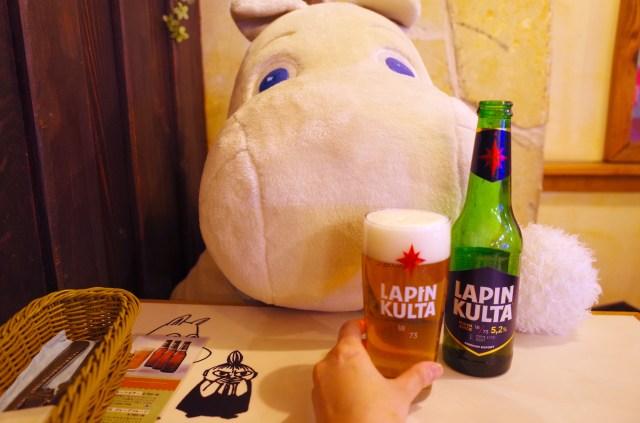 【女ぼっち飲み】ムーミンとビールが飲める「ムーミンカフェ」が楽しすぎてハマる! ただし…周りから心配されるかも?