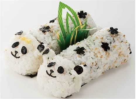 【縁起良さそう】シャンシャン公開記念! 東京・上野ならではの「パンダ恵方巻」がしっぽもついてて超キュートです☆