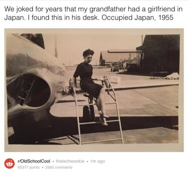 「俺には日本人の彼女がいたんだ」アメリカ人の祖父の机から古い1枚の写真が出てきた…忘れられない恋の物語