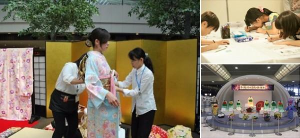 成田空港のイベントが粋です! 「マンガ家体験」や「忍者・着物の着付け体験」など誰でも日本文化を楽しめちゃうよ