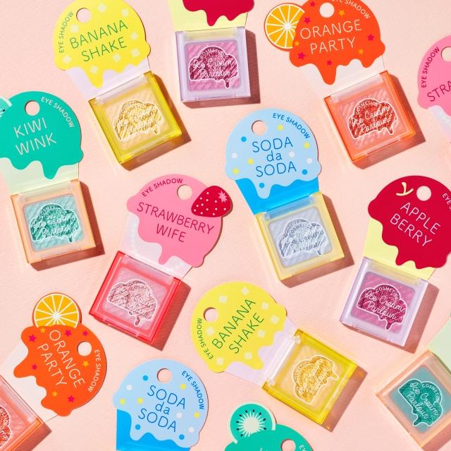 【きゃわ♡】資生堂の新ブランド「アイスクリームパーラーコスメティックス」がポップ&キュート! 80年代ぽいレトロデザインがたまりません