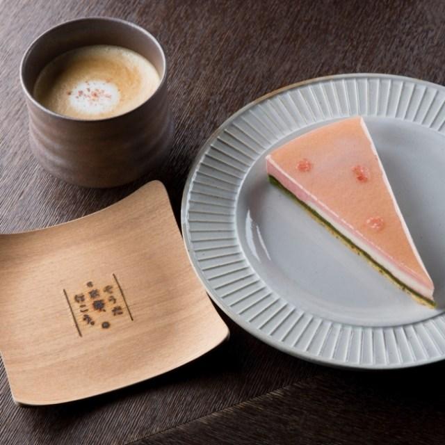 「そうだ 京都、行こう。」とコラボしたカフェメニューが蔦屋代官山店に登場…だけど「桜ラテ」が950円とめっちゃたかいぃぃぃ!
