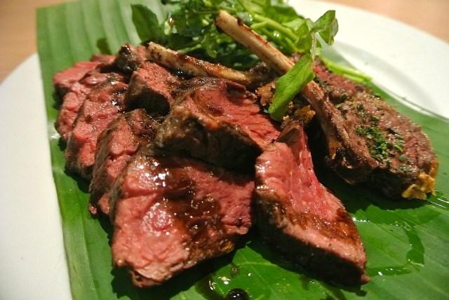 【期間限定】渋谷のナイトサファリレストランに潜入♪ 珍しいカンガルーのお肉が食べられるよ