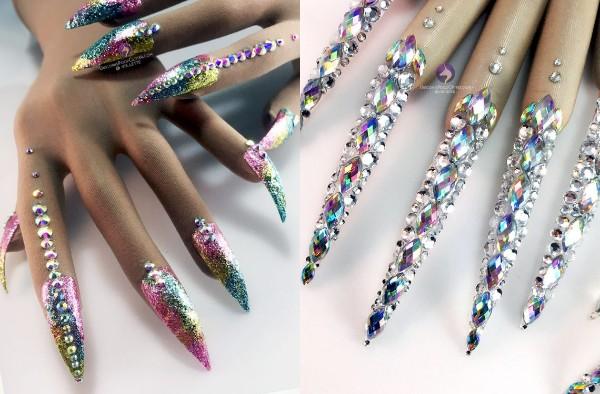まるでネイルしているみたい! 爪も手も装飾してくれる「ネイルグローブ」がナイスアイディアなのです★