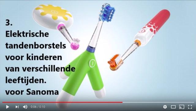 """あえて""""オモチャのような電動歯ブラシ""""が誕生! 子供達が歯みがきに慣れ親しめるよう考え抜かれたデザインでした"""