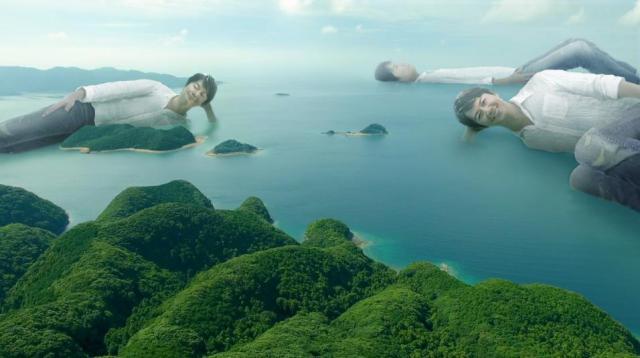 福山雅治が長崎県に浮かぶ「島」と化す…! とんでもなくシュールな長崎PRムービーが再生回数47万回超えと大人気です