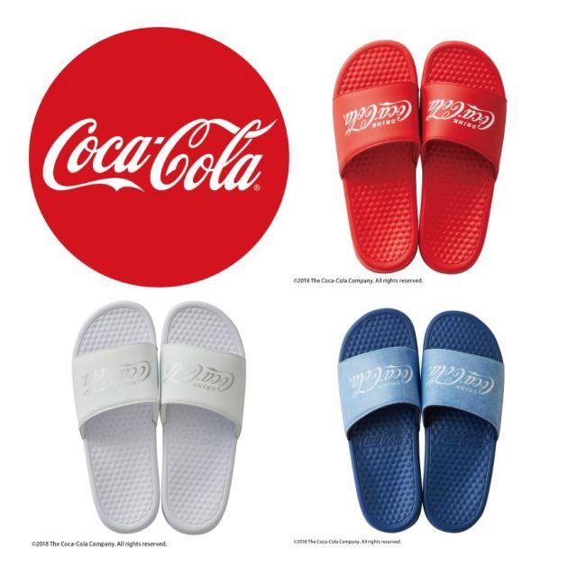 「コカ・コーラ」のシャワーサンダルがじわじわカワイイ! オシャレで履きやすくってヘビロテ確実です☆