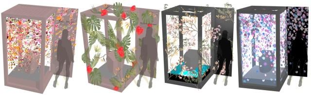 「シャレオツすぎるトイレ」が六本木に登場!? 春の花々で彩った4つのトイレが東京ミッドタウンに2日間限定で出現するよ