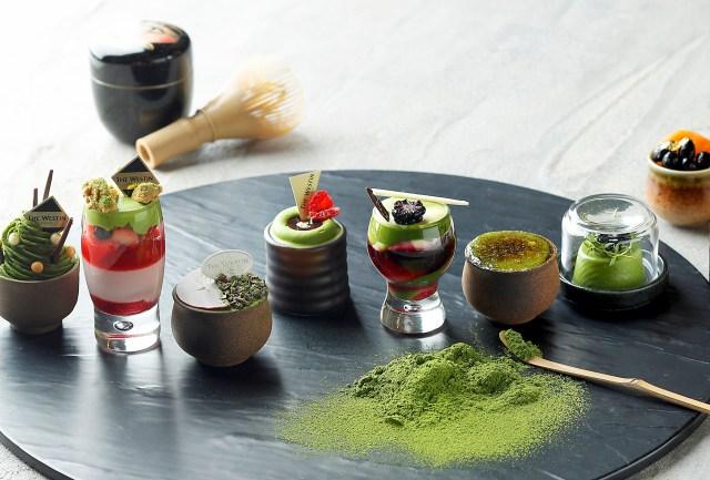 ウェスティンホテル東京で初の「抹茶デザートブッフェ」開催! 抹茶の香りと苦味を生かした20種以上の贅沢スイーツに目移りしそう
