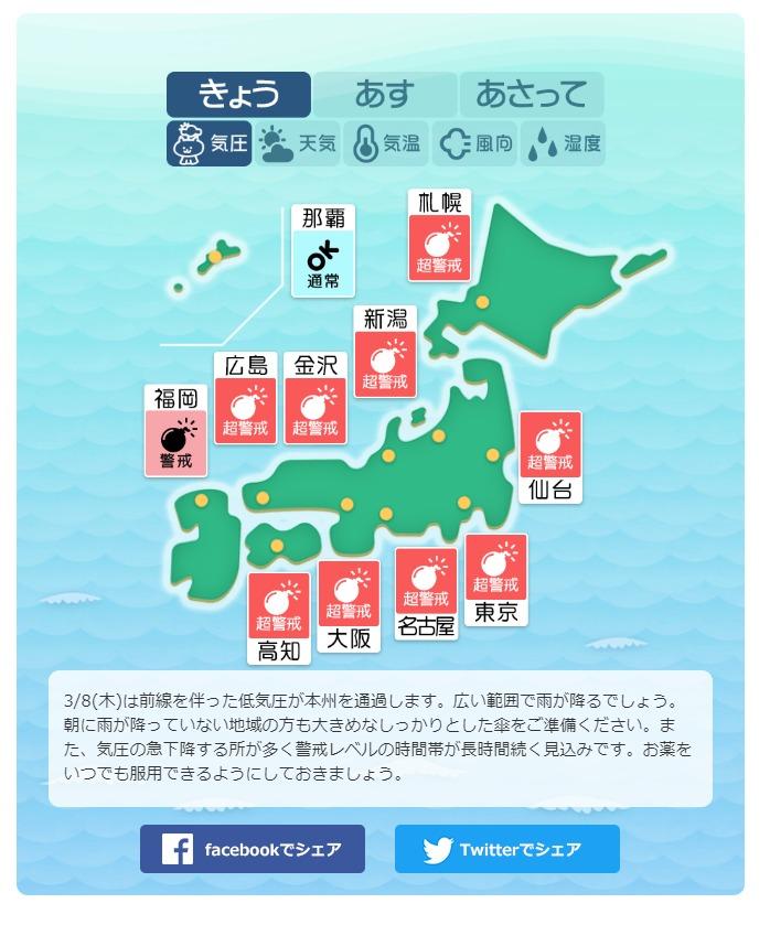 金沢 天気 今日 の