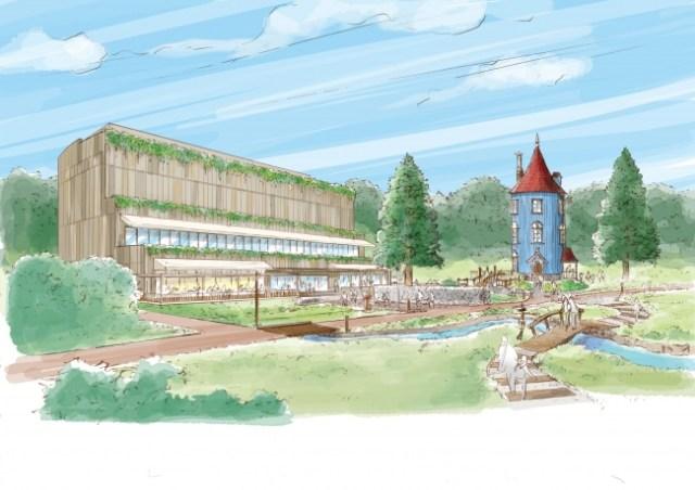 【メッツァ続報】「ムーミンバレーパーク」エリアのオープンが2019年3月に決定~! ムーミン一家のあの家や、おさびし山が再現されてるよ〜