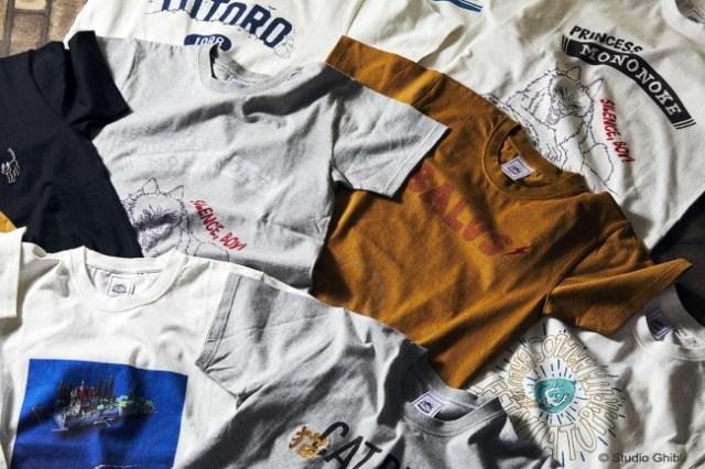 ジブリ作品がオトナ可愛いTシャツになっちゃった! アメカジブランド『GBL』から全16種類28色が登場します