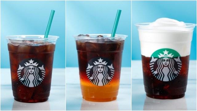 【夏季限定】スタバで人気の「コールドブリュー コーヒー」が帰ってきたよ! 今年の夏は「アップル シトラス」と「ムースフォーム ヘーゼルナッツ」が仲間入り♪