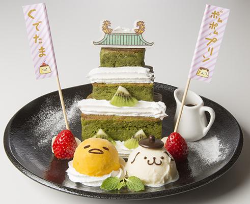 """名古屋のポムポムプリンカフェに「ぐでたま」が参上! 人気者同士がコラボした """"お城スイーツ"""" が可愛くってレアすぎる♡"""