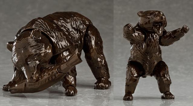 誰もが知る北海道土産「木彫りのクマ」が動く・跳ぶ・ 立ち上がる!? 可動式フィギュア「figma ヒグマ」が爆誕したよ