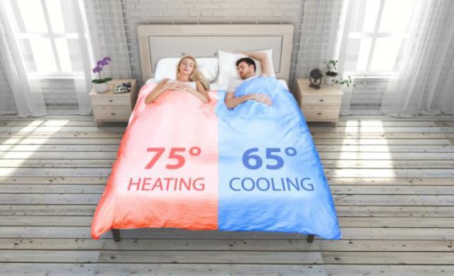 ベッドの温度を左右で変えることができるアイテムが超便利! しかも自動でベッドメイキングまでしてくれるよ