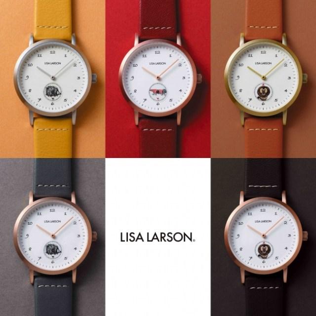 【北欧風】リサ・ラーソンの腕時計がオトナかわいい♡ 時間を刻むたび猫のマイキーたちがくるくる回るよ