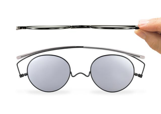 【厚さ3ミリ】驚異的な薄さでお財布にも入るサングラスが誕生! 持ち運び便利なうえ超シャレオツです