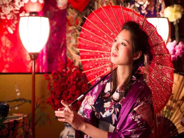 花魁風のスタジオ撮影が無料でできる城崎温泉の旅館「花小路彩月」が太っ腹! 浴衣から和小物まで全身コーディネートして着付けもしてくれます