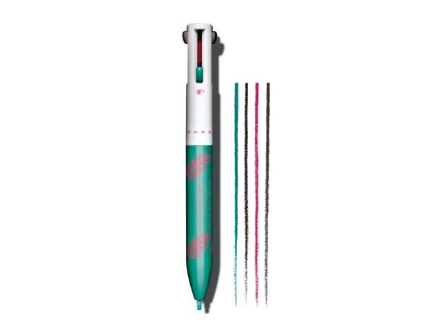 【衝撃】ボールペンにみえるけど「コスメ」だよ! アイライナーとリップペンシルが一体化した「フォーカラーマルチペン」が画期的