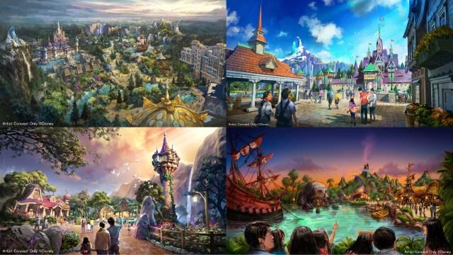 東京ディズニーシーの新エリア「アナ雪」「ラプンツェル」「ピーターパン」の様子をご紹介! 2022年開業だけど待ちきれないほど楽しそうなのです♪