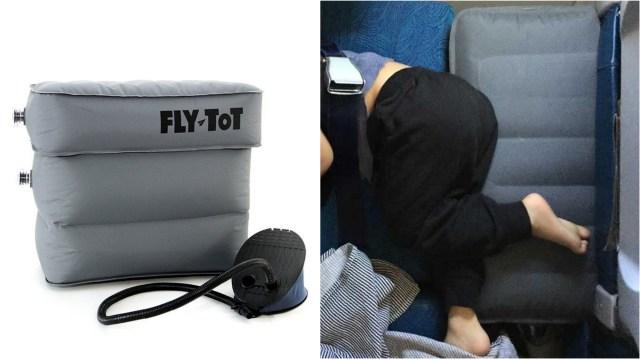 子連れ旅行に便利そうな「飛行機用エアークッション」が日本上陸♪ 「子供がぐっすり眠ってくれた」「親の旅の疲れ具合もちがう」なんて声も!!