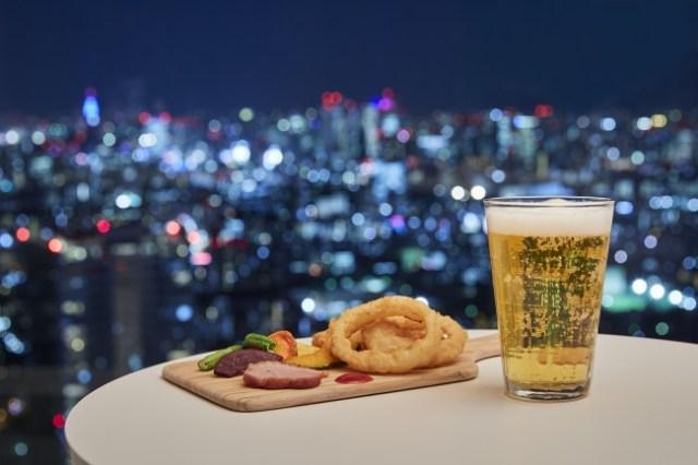 【本日から】東京・池袋「サンシャイン」60階に期間限定バーがオープン! 大都会の夜景はもちろん花火大会も空から楽しめるよ♪
