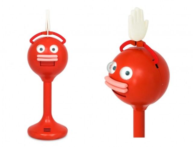 ペッパーくんのライバル!? 10年間の研究で生まれた拍手ロボット「ビッグクラッピー」がデビュー!超リアルな拍手音でお店の呼び込みを手伝ってくれます