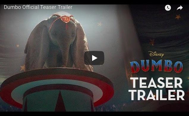 【鳥肌】ディズニーの名作『ダンボ』の実写版の予告動画が公開! 「もし現実にダンボがいたら」という存在感を120%CG表現しています