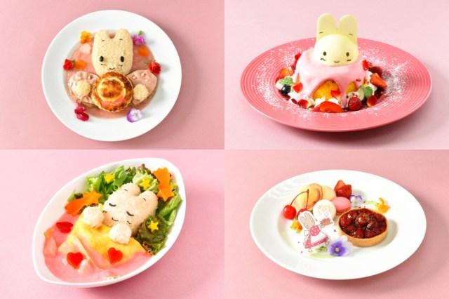 「マロンクリームカフェ」が新宿・京王百貨店にオープン! ピンクを基調にした料理やドリンクにアラサー女子の胸キュンが止まりません