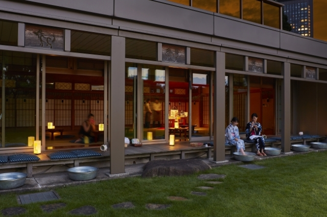東京タワーを眺めながら浴衣で夕涼み♪ 鈴虫の音色にヨーヨー釣り…ニッポンの夏を堪能できるカフェがザ・プリンス パークタワー東京に登場