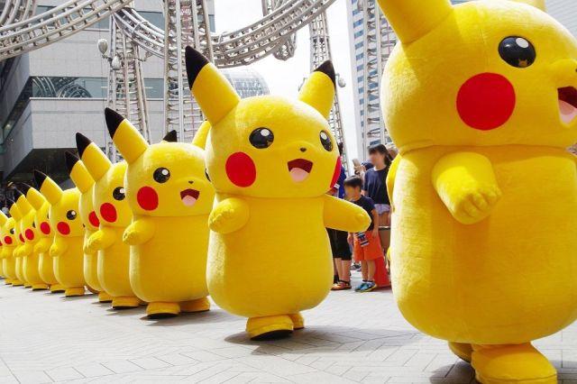 横浜の「ピカチュウ大量発生イベント」がパワーアップ! なんと「イーブイ」も大量発生 & デジタル演出が追加されるよ〜!