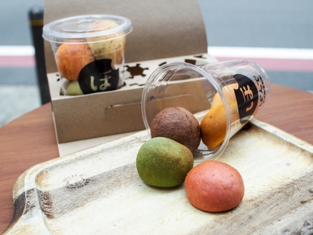 フォトジェニックなお土産に◎もちもち食感の一口パン「ぽんで」のアンテナショップ1号店が池袋駅の駅ナカにオープン!