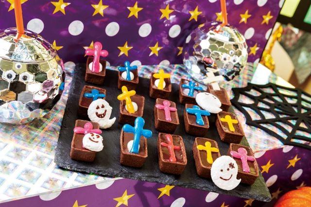 ヒルトン東京ベイが「ハロウィン×ディスコ」のバブリーなデザートビュッフェを開催するよ! 光るスイーツは必食でっす