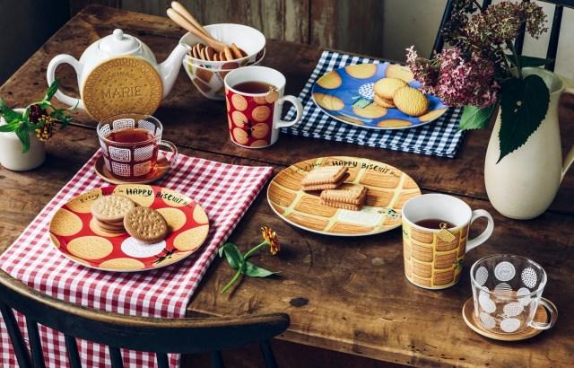 【ほんわか】森永ビスケットの愛らしい世界観が食器や雑貨に! お菓子モチーフの品々はどれも食べちゃいたいほどカワイイよ!!