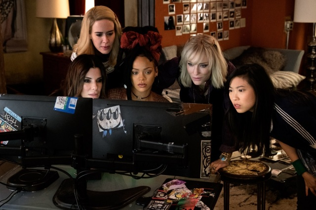 【本音レビュー】映画『オーシャンズ8』は女泥棒たちの華麗なる強盗テクが痛快! だけど、あれ? 敵がいない…