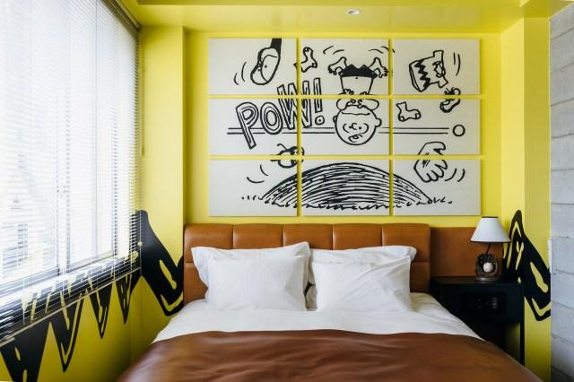 【画像多数】話題のスヌーピーのいる「ピーナッツ ホテル」のお部屋が公開されたよ! 全室ちがった内装で超凝っていました