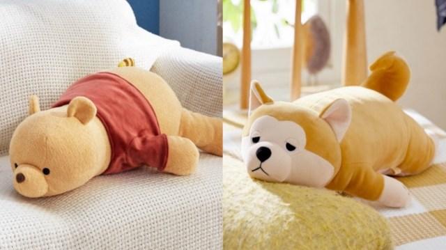 """【萌え】ベルメゾンの「もっちもちの抱き枕」がきゃわいい! み~んな """"うつ伏せ寝"""" で私が寝るのを待ってくれます♪"""